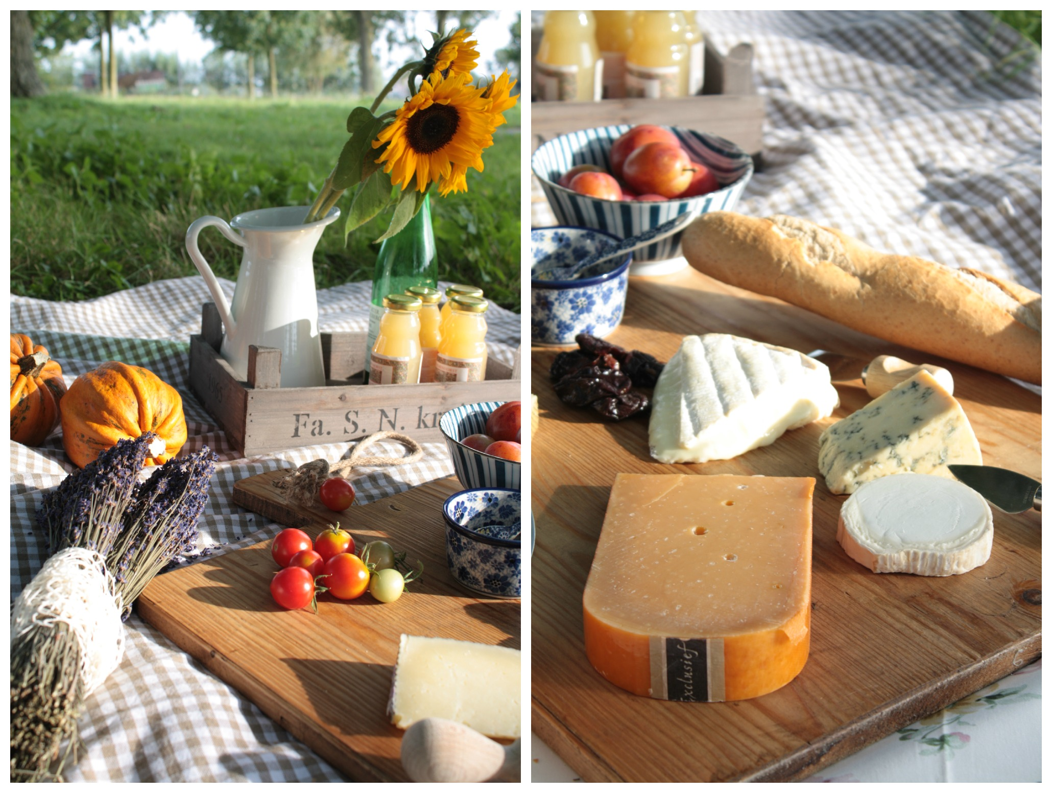 Diy How Create French Vintage Style Picnic Celebrate Fall Magazine